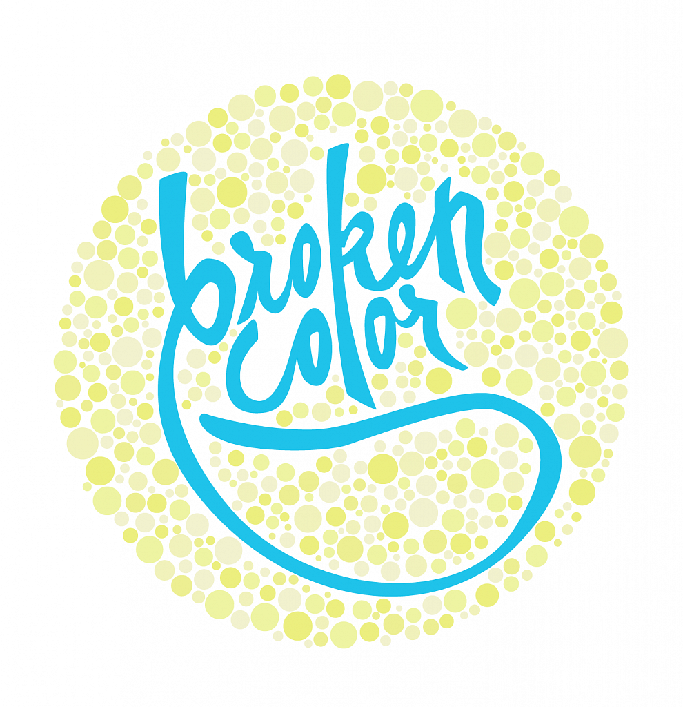 broken color