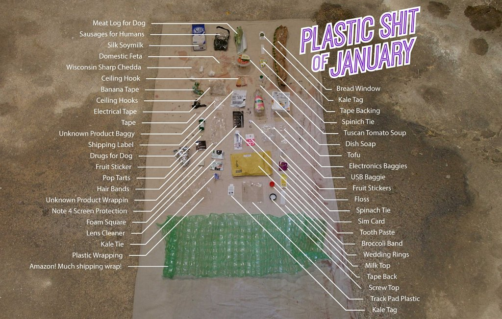 Plastic Shit of January