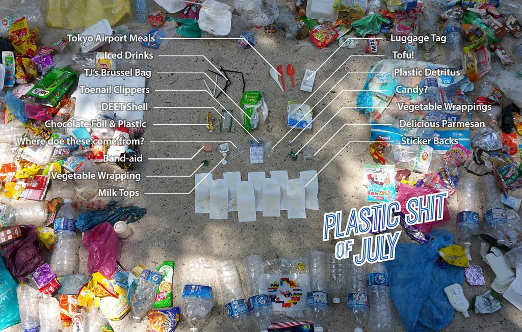 Plastic Shit of July