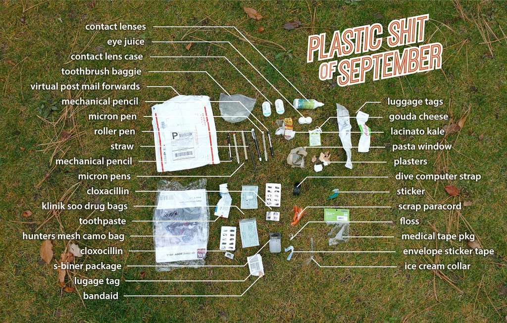 Plastic Shit of September