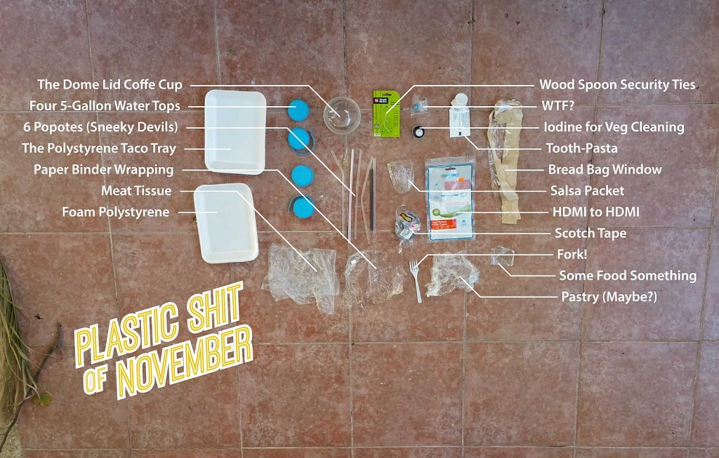 Plastic Shit of November