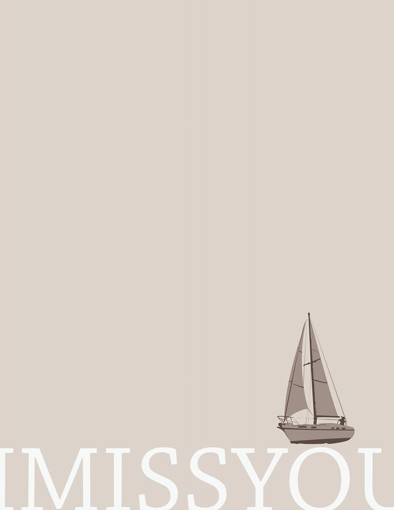 I miss sailing