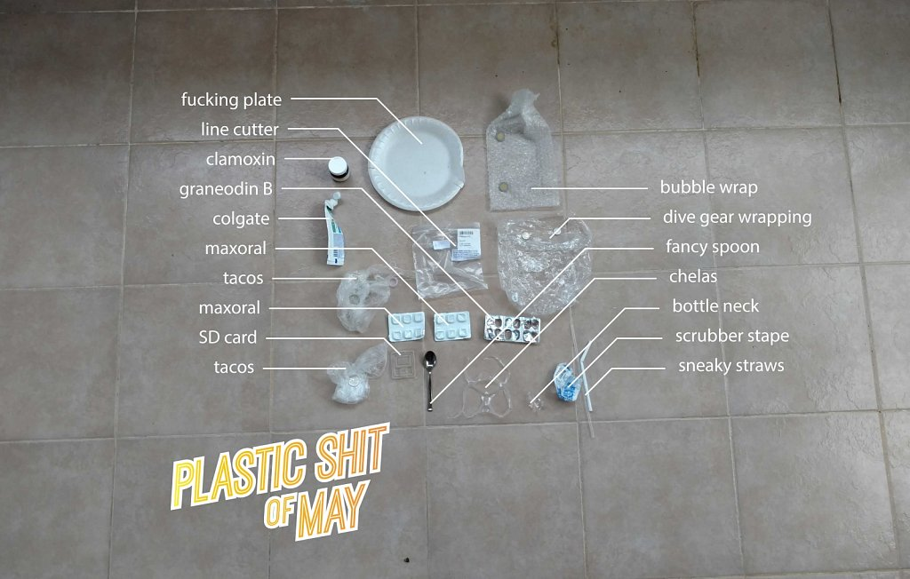 Plastic Shit of May